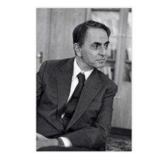Carl Sagan, US astronomer Postcards (Package of 8)