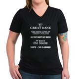 Great Dane Walking Answers Shirt