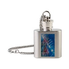 DNA Flask Necklace