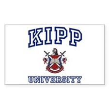 KIPP University Rectangle Bumper Stickers