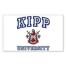 KIPP University Rectangle Decal