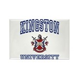 KINGSTON University Rectangle Magnet
