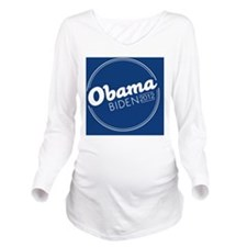 Obama Biden 2012 But Long Sleeve Maternity T-Shirt