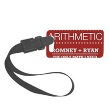 Republican Arithmetic Button Luggage Tag