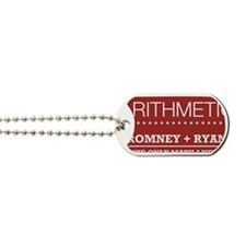 Republican Arithmetic Button Dog Tags