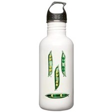 Mendel's peas Water Bottle