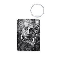 Albert Einstein, German ph Keychains