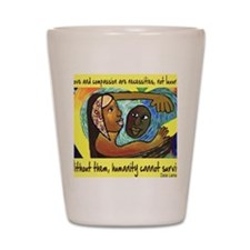 Love and Compassion Shot Glass