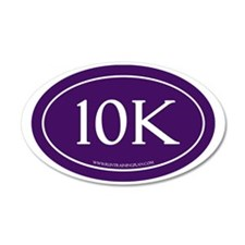 10K Run Achievement Wall Decal