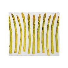Asparagus Throw Blanket
