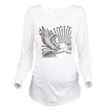 Eagle 1 Long Sleeve Maternity T-Shirt