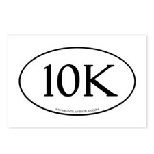 10K Running Achievement W Postcards (Package of 8)