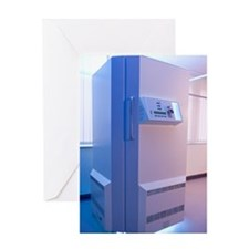 Phototherapy booth Greeting Card