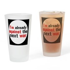 against war Drinking Glass