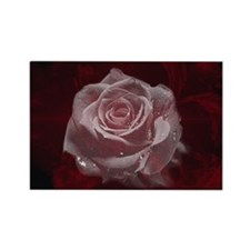 Fantasy Rose Rectangle Magnet