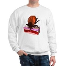 Tick feeding, artwork Sweatshirt