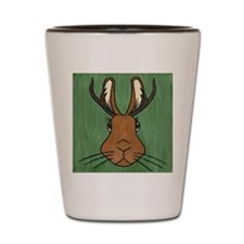 Jackalope Shot Glass