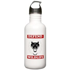 Defend Wildlife Water Bottle