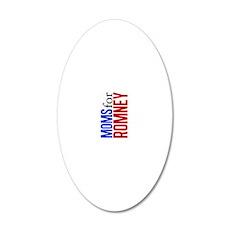 momsforromneysigg 20x12 Oval Wall Decal