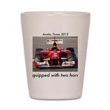 2012 U.S. Grand Prix Shot Glass
