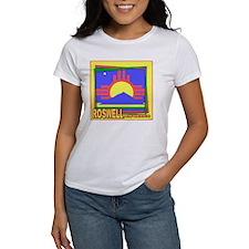 Roswell NM Flag Art Tee
