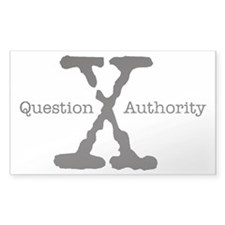 QUESTION AUTHORITY - X Decal
