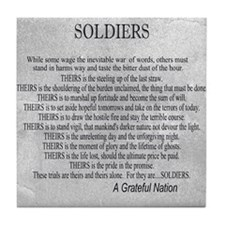 Soldiers Tile Coaster