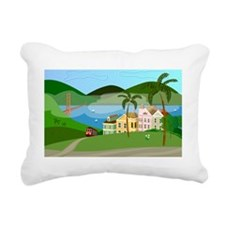 11x17 San Fran Poster Rectangular Canvas Pillow