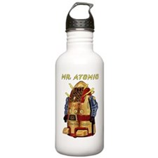 Mr. Atomic, the Robot  Water Bottle
