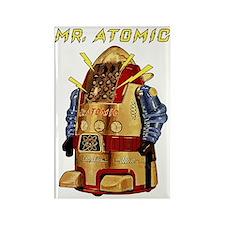 Mr. Atomic, the Robot scifi vinta Rectangle Magnet