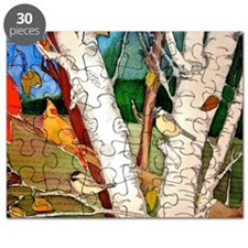 Birds in the Birch tree Puzzle