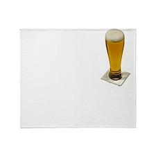 Drink Up Oktoberfes... Throw Blanket