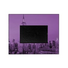 Purple NYC Skyline Picture Frame