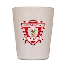 Benfica  Sempre (Always) Football Team Shot Glass