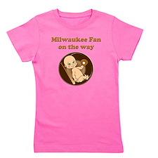 Milwaukee fan on the way Girl's Tee