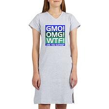 GMO callout Women's Nightshirt