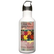 Leaf Pile quilt patter Water Bottle
