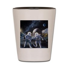 Lunar survey team Shot Glass