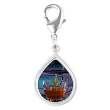 Magic sensor Silver Teardrop Charm