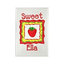 Sweet Ella Rectangle Magnet