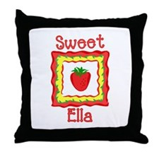 Sweet Ella Throw Pillow