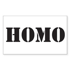 Homo Rectangle Decal