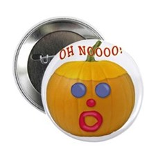 "Oh No! Mr.Pumpkin! 2.25"" Button"