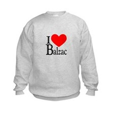 I Love Balzac Sweatshirt