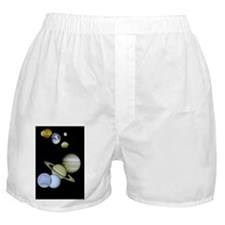 Planets of our Solar System Boxer Shorts