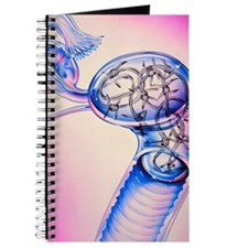 Artwork of uterus suffering menstrual pain Journal