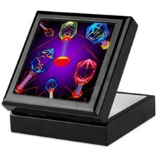 Bacteriophages Keepsake Box