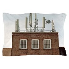 Mobile phone base station Pillow Case