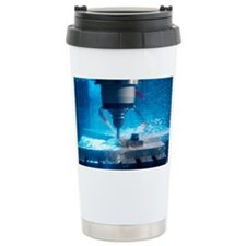 Metalwork Ceramic Travel Mug