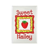 Sweet Hailey Rectangle Magnet